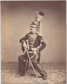 Monsieur Mauban, 8th Dragoon Regiment, 1815 The only surviving images of veterans of the Napoleonic Wars