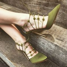 Women'S Fashion Stiletto High Heels Pointy Toe Sandals Lace Up Shoes Party Lace Up High Heels, Sexy High Heels, Womens High Heels, Stiletto Heels, Shoes Heels, Pumps, Stilettos, Manolo Blahnik Hangisi, Frauen In High Heels