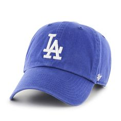 Los Angeles Dodgers 47 Brand Women s Home Clean Up Adjustable Hat fd5f2a0cde85