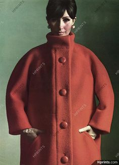 Yves Saint-Laurent 1963 Coat, Philippe Pottier, Garigue (Fabric)