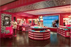 Victoria's Secret Store Design by Ayesha Khan Victoria Secrets, Victoria Secret Shops, Commercial Interior Design, Commercial Interiors, Lingerie Store Design, Boutique Interior Design, Just Shop, Glam Room, Store Fixtures