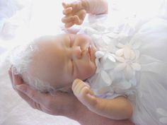REBORN BABY GIRL QUINLYNN SCULPT BY LAURA-LEE EAGLES