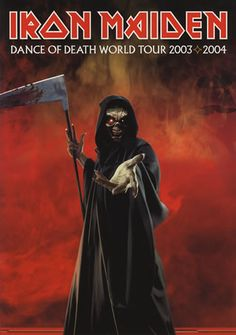 Iron Maiden - Dance Of Death World Tour Poster 2003/04...