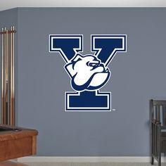 Yale Bulldogs Logo Decal West Virginia, Design Art, Logo Design, Design Ideas, Bull Logo, Wall Decals, Graduation Food, Shirt Designs, College