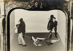 Antonin Artaud et Eli Lotar. Sur la photo Roger Vitrac, Josette Lusson et…