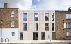 Haptic Architects completes contemporary apartment block in Chelsea conservation area