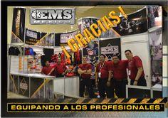 EMS México quiere Agradecer a Todos Ustedes que nos regalaron unos minutos para visitar nuestro stand y conocer las líneas de productos durante de la pasada Convención Nacional Cruz Roja en la ciudad de San Luis Postosí.  Porque #SoyEMS y Ustedes nos brindan su apoyo, continuamos trabajando para seguir  Equipando a los Profesionales   ¡ G R A C I A S !  ☺