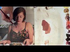 Cómo hacer color piel en diferentes tonalidades 2 Curso de pintura - YouTube