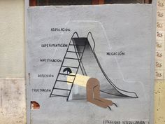 Valencian style graffiti