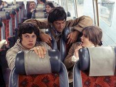 Great shot of Frazer Hines, Patrick Troughton, and Deborah Watling. #DoctorWho