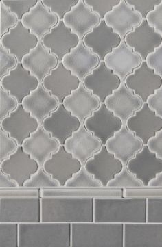 Small arabesque shapes for wall or floors adds a subtle whimsy yet sophisticated air to any space.