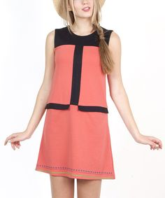 Retro? Yes please! This darling and adorable dress lets a lady look super cute in a single piece ensemble.