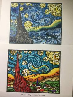 Barbara Escalante's entries to our Chameleon Starry Night contest Van Gogh Art, Van Gogh Paintings, Vincent Van Gogh, Chameleon, Night, Artist, Artwork, Work Of Art, Auguste Rodin Artwork