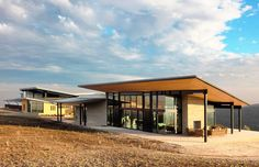 The Law Winery, designed by San Francisco-based BAR Architects, is nestled amidst the gorgeous landscape of the Paso Robles.