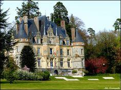 Chateau de Bagnoles de L'orne. France