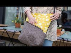 Tasche Milow von Zucker und Zimt Design - kostenloses Schnittmuster - YouTube