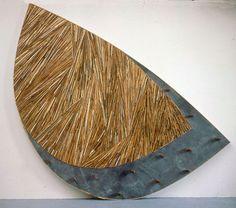 Minoru Ohira  (wood and slate)