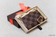 Louis Vuitton Key Pouch Cles CC LV  Unboxing, Damier, Damier Ebene