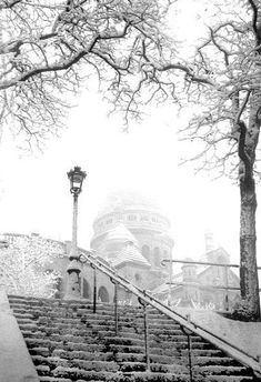♔ Snowy Paris ~ Montmartre ~ January 1935