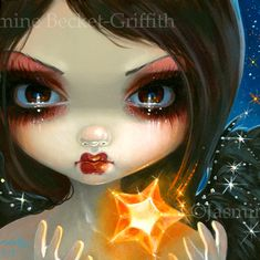 Faces of Faery 231 Magic Star Fairy by Jasmine Becket-Griffith