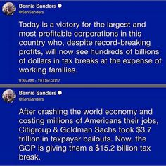 They aren't done. 2018 is going to be the year they strip Medicare and Social Security to the bare bones. WE PAID FOR THOSE PROGRAMS. THEY ARE NOT ENTITLEMENTS, THEY ARE EARNED BENEFITS