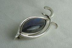 Spilla occhio di Horus in argento 925 con di oreficeriAlternativa
