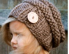 Knitting PATTERN-The Iviy Cloche' Toddler Child by Thevelvetacorn