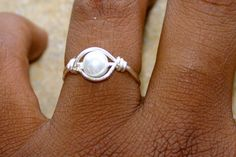 Hand Crafted Wire Ring On Etsy