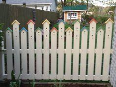 Birdhouse Fence
