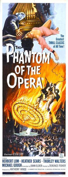 Les scènes d'opéra ont été filmées au Royal Opera House de Covent Garden. Cary Grant avait été sollicité pour jouer le rôle de Harry Cobtree, le directeur artistique romantique, mais il a finalement décliné l'offre, peut-être à cause des scènes où il doit nager. Christopher Lee avait été d'abord envisagé pour jouer le rôle du Fantôme. Le film a été un flop et Terence Fisher a été remercié par la Hammer. Celle-ci l'a cependant réembauché deux ans plus tard.