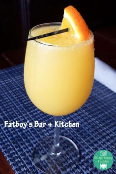 Manmosa from Fatboy's Kitchen & Bar in New London, CT