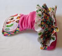 Very Hungry Caterpillar ruffle cloth nappy My sweetheart needs....