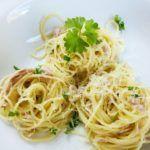 Spaghetti mit Parmesan und Thunfisch | La Vida Dulce