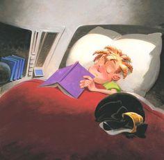 Ese placer de quedarse dormido/a con el libro en la mano. ¿A ti te pasa?