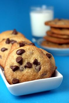 So far, THE best chocolate chip cookie recipe I've found out there.  Need I say by whom?
