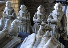 Savage Memorial, St Marys Church, Elmley Castle, Worcestershire, c. 1631, by Samuel Baldwin