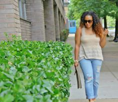 Leopard print clutch + boyfriend jeans street style #womensfashion #fashion #style #outfit