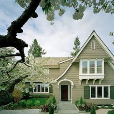 Great neutral house exterior colors