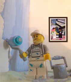 Hyperbolego – Lego Inspired Original Photography Lego Painter