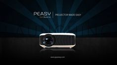 Meet Peasy - The Smart Wireless Business Projector. #projector #wireless #classroom #business #corporate #conference #meeting #presentations #conferencing #byod