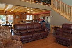 A hybrid log home offers more flexibility to let your creative ideas come together. Combine many features such as logs, log siding, stone, other accents! Design yours! Log Home Plans, House Plans, Exterior Design, Interior And Exterior, Northern White Cedar, Log Siding, Cedar Log, Building Systems, Home Photo