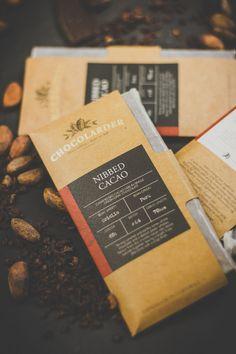 Before & After: Chocolarder — The Dieline - Branding & Packaging Food Packaging Design, Packaging Design Inspiration, Brand Packaging, Packaging Ideas, Pouch Packaging, Choclate Bar, Hu Chocolate, Organic Granola, Self Branding