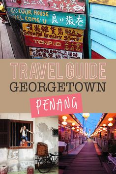 Georgetown, the old historical area in Penang is the best to go in malaysia! Here's the ultimate Penang guide and tips during your stay!