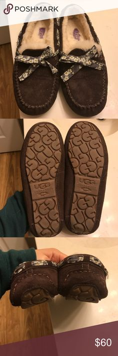 Ugg slippers in like new condition 90% new Hazelnut for winter comfort and warm need find new loving home for it comes with original packing UGG Shoes Flats & Loafers