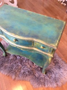 Boho Style painted table