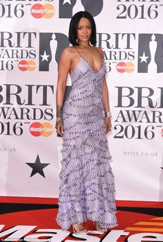 Work! Rihanna reigned supreme at the 2016 BRIT Awards in London on Wednesday evening...