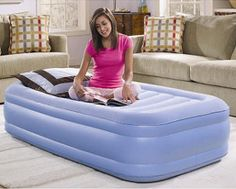 The Air Mattress Alternative - Are you a college student? Moving? Need a permanent guest bed?