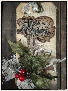 Tim Holtz 2011 - 12 Tags of Christmas Tag #7