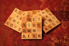 Scrabble Coasters with Recycled Wood Scrabble Tiles Scrabble Coasters, Scrabble Crafts, Scrabble Tiles, Tile Coasters, Scrabble Letters, Wood Projects For Beginners, Scrap Wood Projects, Fun Projects, Crafts To Sell