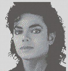 Michael Jackson Perler Bead Pattern